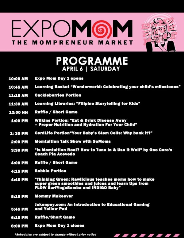 Expo Mom 2013 Programme