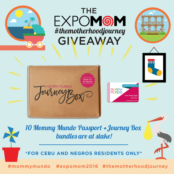The Expo Mom: The Motherhood Journey Giveaway