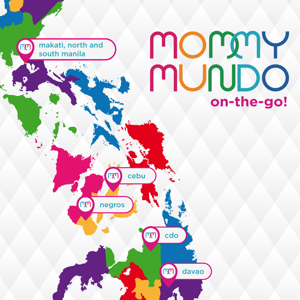 Mommy Mundo is on the go!