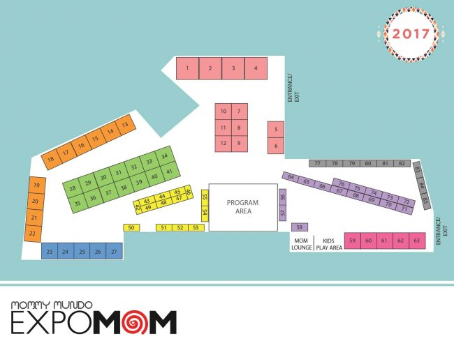 expomom 2017 manila event map
