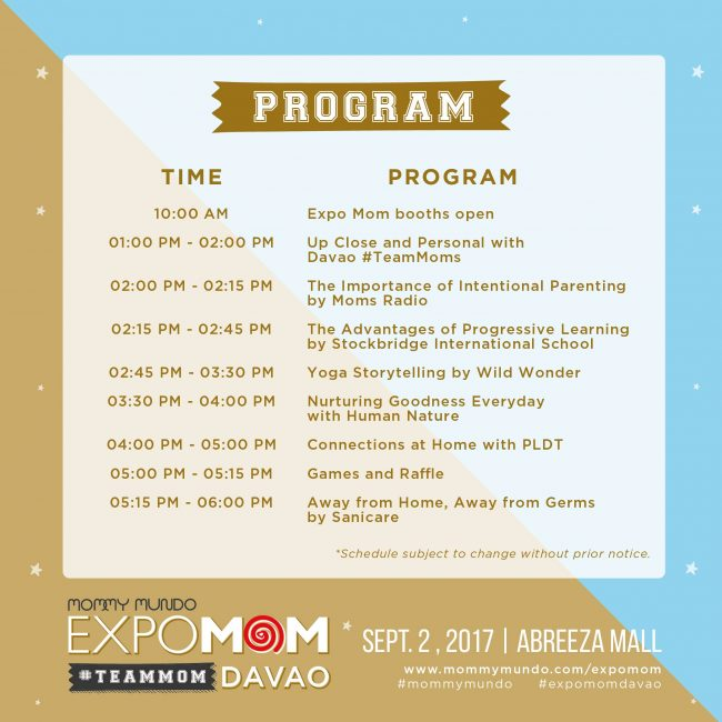 Event Map And Program   Expo Mom