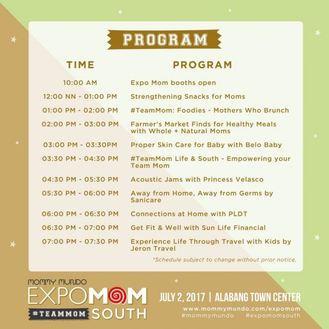 south 2017 program