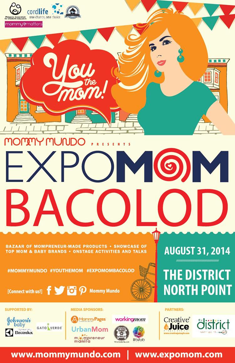 ExpoMom Bacolod Leaflet