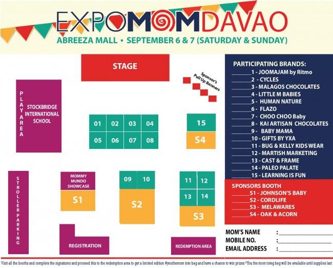 ExpoMom Davao Layout
