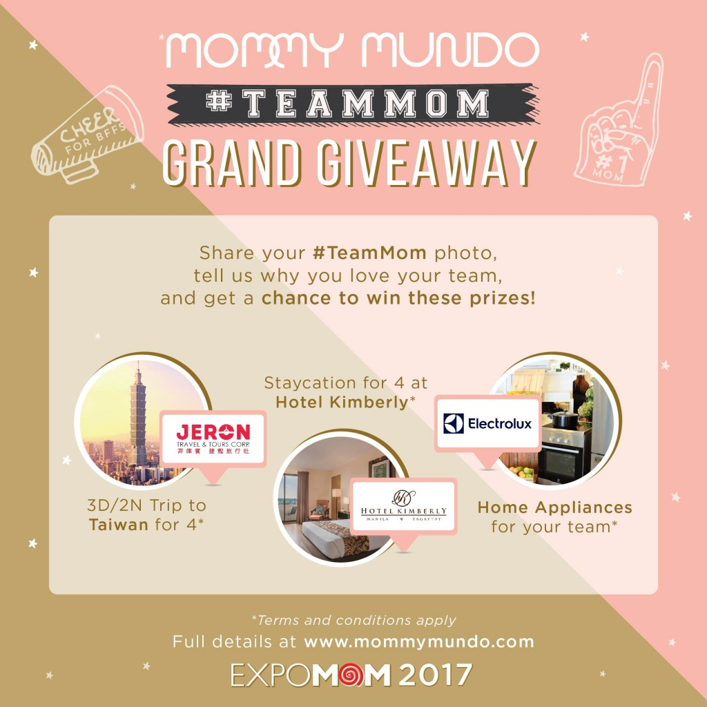Mommy Mundo #TeamMom Grand Giveaway
