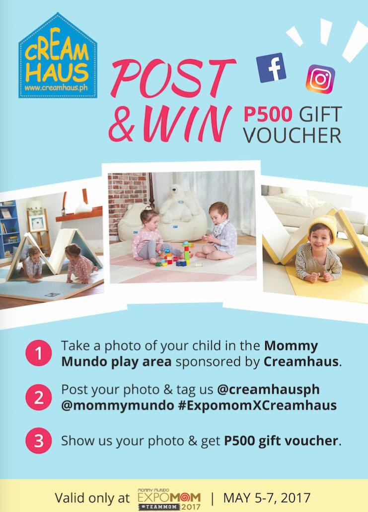 Creamhouse Post and Win P500 Gift Voucher