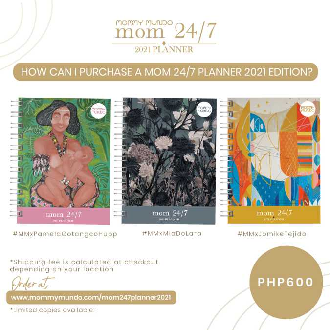 How can I purchase a Mom 24/7 Planner 2021 Edition?